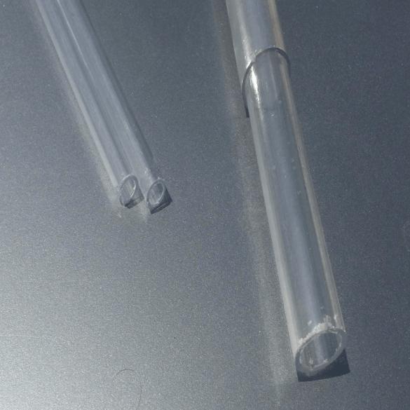 لوله شفاف پلاستیکی