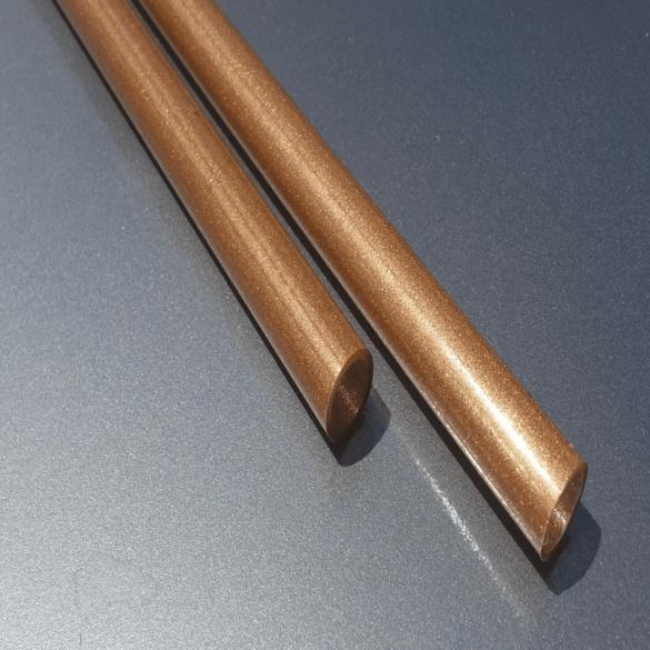 لوله پلاستیکی با طرح چوب
