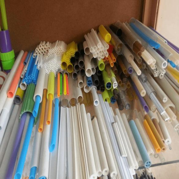 انواع لوله های پلاستیکی مختلف