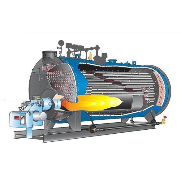 استفاده اقتصادی از دیگ بخار با سوخت گاز